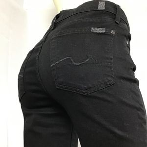 7 For All Mankind THE SKINNY Jeans Size 28 (T^)